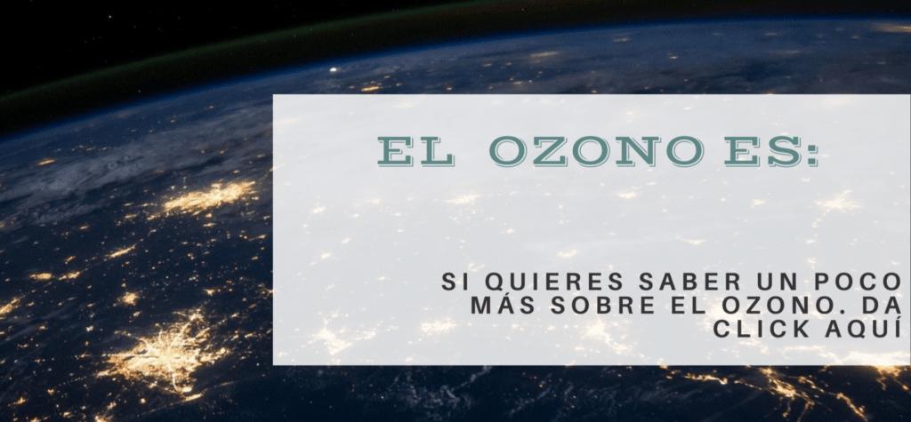 Una explicación breve y con palabras diarias de que es el ozono.