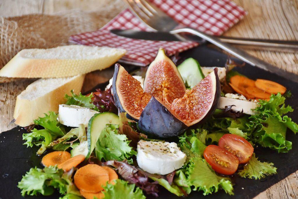 La ensalada es otro plato recomendable de nuestra lista de recetas con agua osmotizada