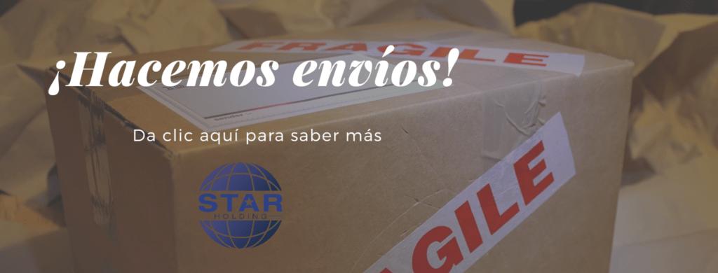 ¡En Star Holding hacemos envíos!