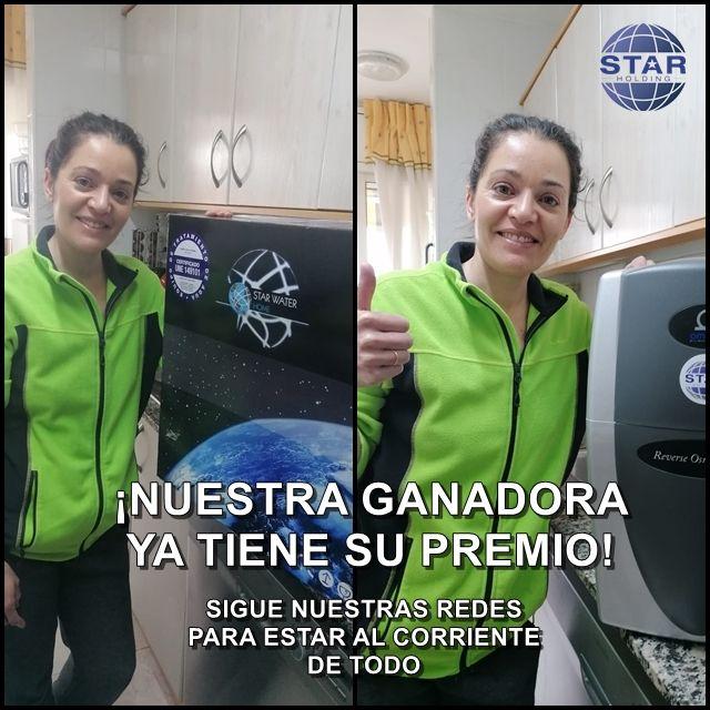 La ganadora del sorteo de un equipo de ósmosis recibió su premio. Un año después nos da su opinión a Star Catalunya.