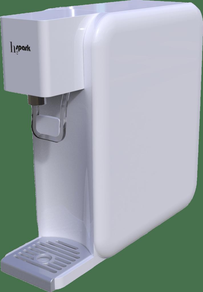 Star Sparck es un generador de agua hidrogenada que quiere hacerte sentir mejor.