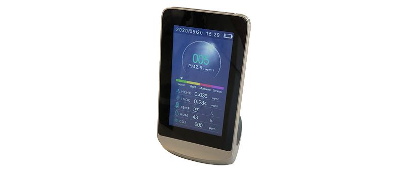el medidor de la calidad del aire hac 50 forma parte del pack airstar