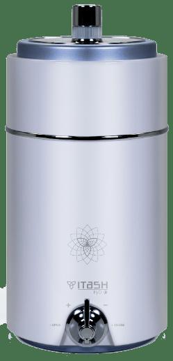 Itash H2O es un todo en uno. Ganarás espacio y agua de calidad con tu nuevo Itash.