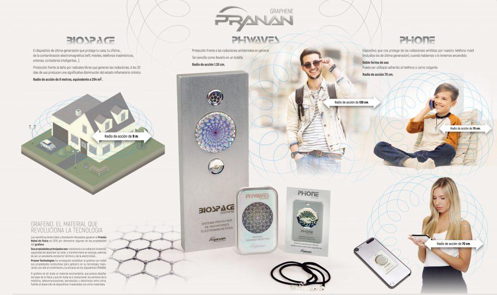 STARPRANAN. La solución para protegerte de la contaminación electromagnética sin necesidad de apagar todos los dispositivos móviles.