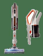 3 en 1. Disfruta de tu nuevo aspirador STARVV para todo tipo de suelos o superficies. Incluso podrás aspirar en húmedo y no te dejarás la espalda en el intento.